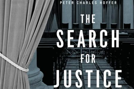 Book cover of The Search for Justice: Lawyers in the Civil Rights Revolution, 1950-1975, (U Chicago Press, 2019).
